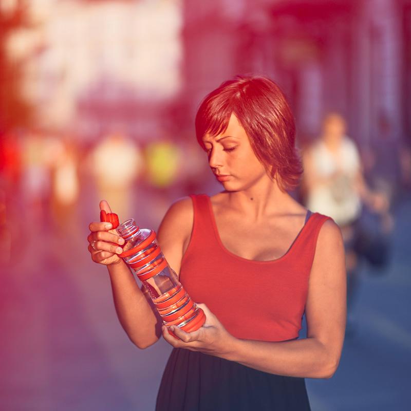 i9 Informed Water Bottle - Chromotherapy