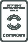 Berlin i9 Certificate