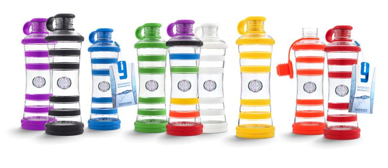 9 couleurs pour des bouteilles design en verre